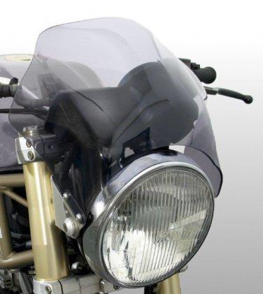 Raptor - Universal Motorcycle Screen for Naked Bikes: Light Grey 04803B