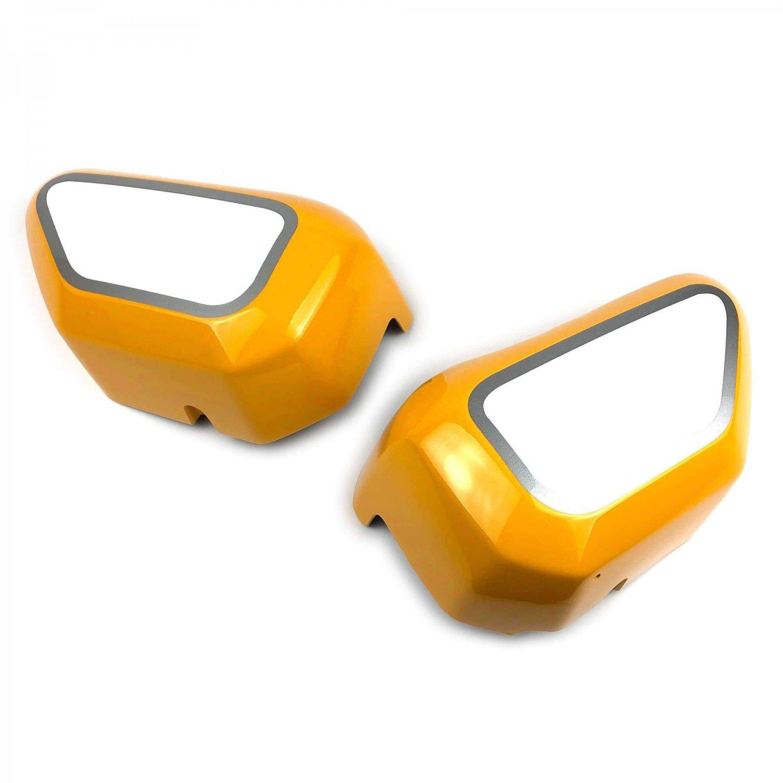 Honda Monkey 125 (18+) Infill Panels: Yellow / White 21275Y