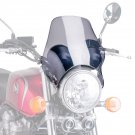 Bugspoiler - Universal Motorcycle Screen for Naked Bikes: Light Grey M0869H