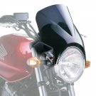Windy - Universal Motorcycle Screen for Naked Bikes: Dark Smoke M1482F