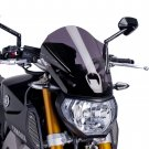 Yamaha MT09 (13-16) Touring Screen: Dark Smoke M6861F