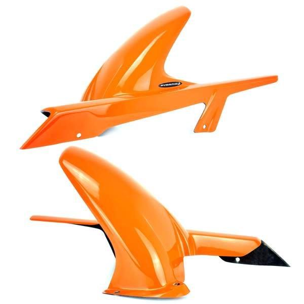 KTM 125 Duke / 200 Duke / 390 Duke (12+) Hugger: Gloss Orange 079301D