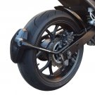 Honda NC700 S / X (12-13) Rear Spray Guard Hugger Alternative Matte Black 085100M