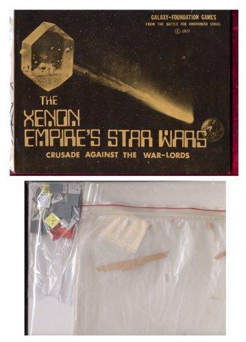 THE XENON EMPIRE'S STAR WARS - Crusade Against the War Lords GFG