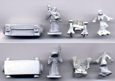 John Carter - Warlord of Mars #1507 - 25mm miniature metal figures (3)
