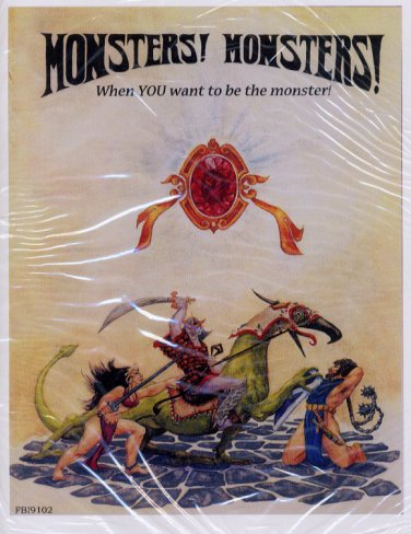 Monsters! Monsters! Metagaming Fantasy FBI9102 Tunnels Trolls core