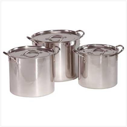 Stainless Steel Stock Pot Set