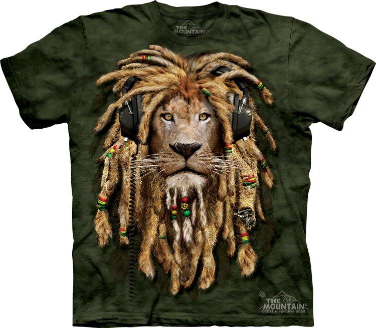 The Mountain DJ Jahman T-Shirt Size XL