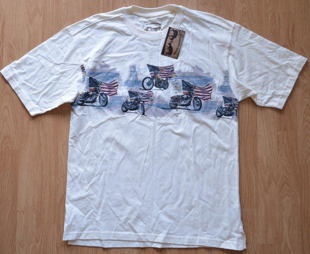 N914 New Men's T-shirt Buckorn River Size XL