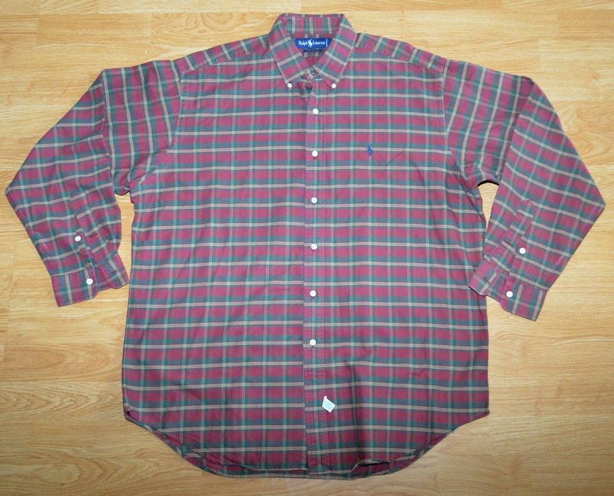 N710 Men's shirt RALPH LAUREN Size L