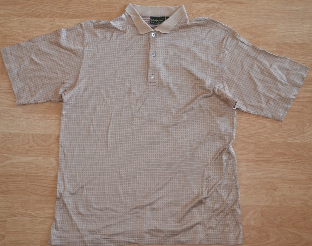 N973 Mens Polo shirt BOBBY JONES Size L Made in Italy