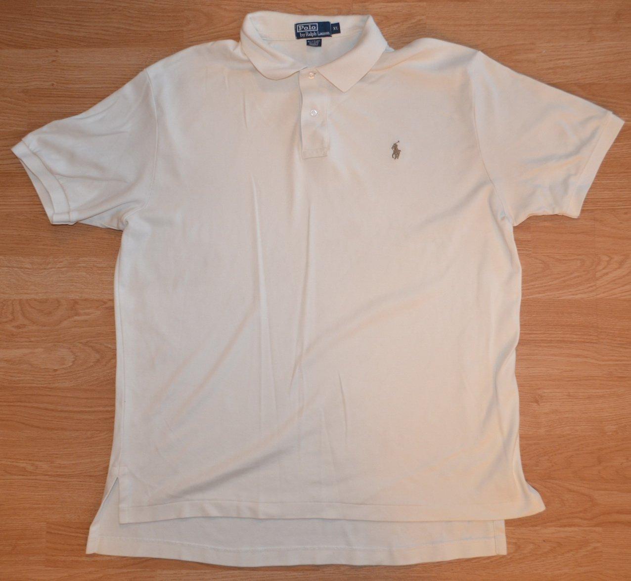 N991 Men's Polo shirt Ralph Lauren Size XL 100% cotton
