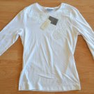 N972 New Women's top ANN TAYLOR Size S 100% cotton