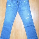 N825 New Men's jeans Hollister Size 34x34 Slim Boot
