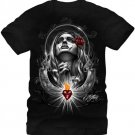 Fifth Sun Graphic Mens T-shirt Aztlan Forever Young Size M