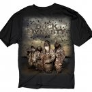 New Mens T-shirt Duck Dynasty A&E Four Hunters Poster Size S