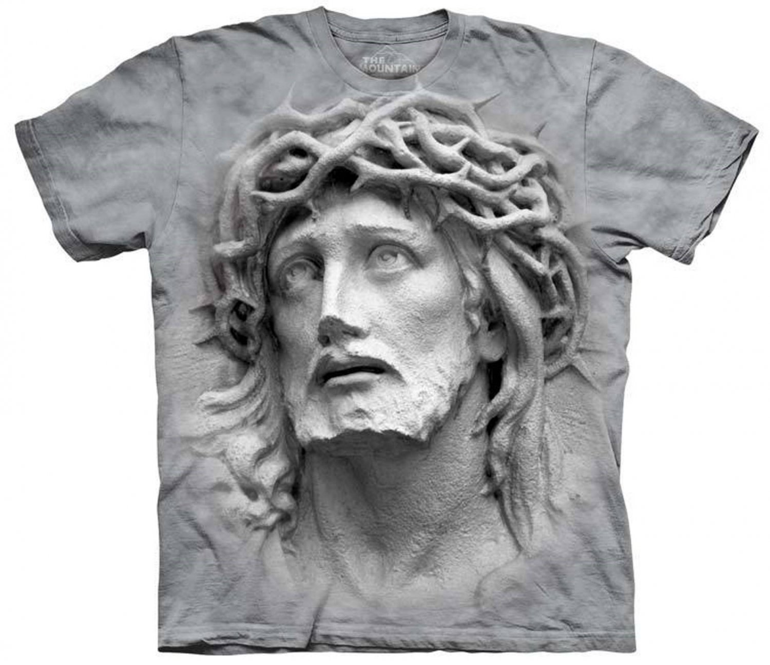 The Mountain Graphic Tee Crown of Thorns T-Shirt Size M