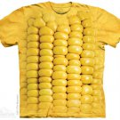The Mountain Graphic Tee Corn on the Cob T-Shirt Size L