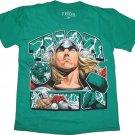 Thor Marvel Comics Boys Tee Kelly Green T-Shirt Size 5/6