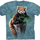 The Mountain Graphic Tee Bamboo Red Panda Adult T-Shirt Size L