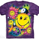 The Mountain Graphic Tee Peace & Happiness T-Shirt Size XL