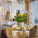 "Dining Table with Sunflowers 20"" x 24"" Original Oil"