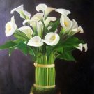 "Calla Lily Bouquet 20"" x 24"" Original Oil"