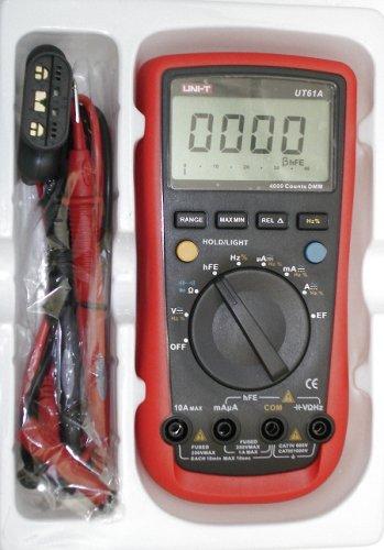 New UNI-T UT61A AC/DC LCD Digital Multimeters UT-61A