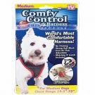 "Comfy Control Harness Soft Vest Pet Harness Breathable For Medium Dogs 19.5""-22"""