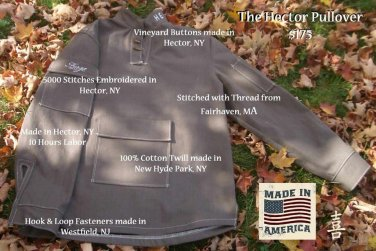 Hector Pullover for Forge Cellars