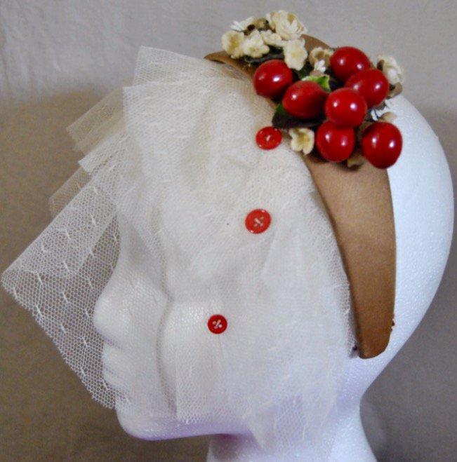SUMMER SALE Headband Veil