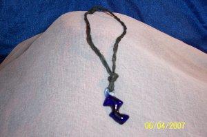 J5- Black Hemp Bracelet.