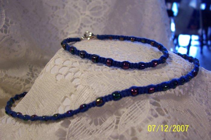 J9- Metallic Blue  Set