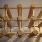 12 Bottle Wine Rack Wood Never Used