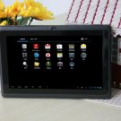 7 inch Q88 Allwinner A13 tablet pc 1.2GHz capacitive screen android 4.0 512MB 4GB black dropshipping