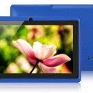 New Blue Google Android Q88 7 Inch Android 4.0 Tablet PC 512MB 4GB Touch A13 Camera wifi