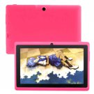 """2013 High Quality 7""""Q88 4GB Dual Camera 512MB Android 4.2 Allwinner A13 Capacitive Tablet PC Pink"""