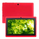 7 inch A13 Tablet PC Android 4.2 With Dual Camera WiFi Skype Flash11.1 Red 2013 Xmas gift