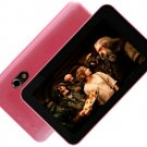 7 inch ANDROID 4.2 ALLWINNER A20 HDMI DUAL CORE DUAL CAMERA TABLET PC Pink 2013 Xmas gift