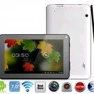 7 inch GPS tablet pc C71A Dual Core 1.5GHz Android 4.1 Dual Camera WIFI Bluetooth 2013 Xmas gift