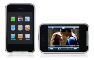 Full 2.8inch 262K colors TFT  4GB Touch screen Mp4 player