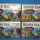 8 Boxes Antioxidant White Tea Celestial Seasonings Perfectly Pear (20 Count)