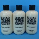 3 Hempz Treats Sugar Lemon Squares Delicious Body Lotion