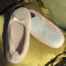 WOMEN'S COMFORT SLIPPERS, PINK, SIZE MEDIUM 7-8, NEW WITH TAGS, ORIGINAL WRAP