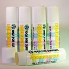 PEGGY HALL YOGA FOR SURFERS LIPS BALM 100% ALL NATURAL, BUTTERSCOTCH