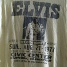 Adult M True Vtg 1977 ELVIS PRESLEY IN CONCERT  Silk Screened Thin T-Shirt