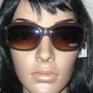 STUDIO S 100 % UV WOMEN'S BROWN EMBELLISHED SUNGLASSES, BRAND NEW WITH TAGS