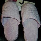 LADIES COMFORT SLIPPERS BY BOBBIE BROOKS, LAVENDER, SZ MEDIUM 7-8 NEW WITH TAGS!