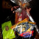 HOLIDAY GIFT BASKET WITH LARGE MUG & ASSORT COFFEE, CAPPUCCINO & TEA