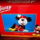 Disney Minnie Mouse Bank Sitting Ceramic Coin Money Enesco Great Gift NEW IN BOX